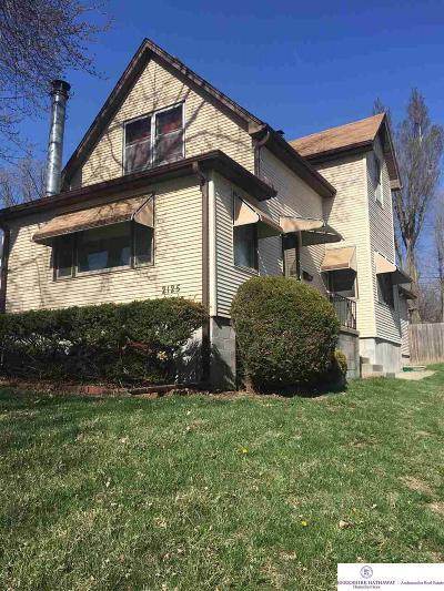 Omaha Single Family Home New: 2125 S 43 Street