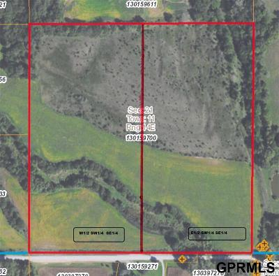 Plattsmouth Residential Lots & Land For Sale: *est 4412 E McKelvie Road