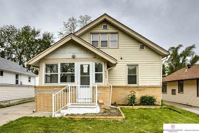Omaha Single Family Home New: 6523 Blondo Street