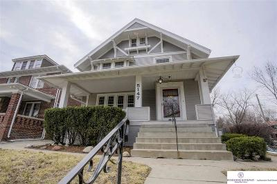 Omaha Single Family Home New: 5147 Davenport Street