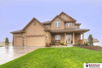 Bennington, Elkhorn, Omaha, Ralston, Bellevue, Gretna, La Vista, Papillion, Springfield, Blair, Fort Calhoun Single Family Home New: 12392 S 78 Street