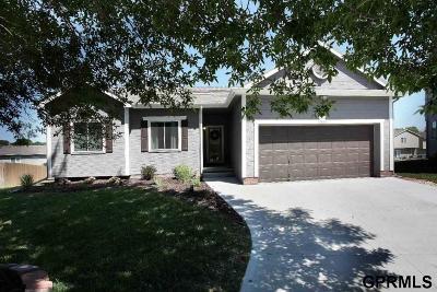 Omaha Single Family Home New: 17816 Jacobs Circle
