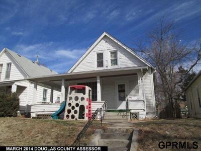 Omaha Single Family Home New: 2518 F Street