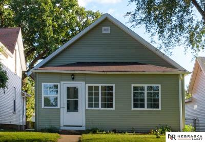 Omaha Single Family Home For Sale: 1615 Elm Street