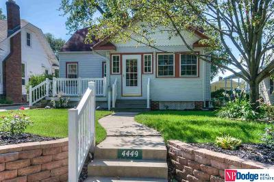 Omaha Single Family Home New: 4449 Woolworth Avenue