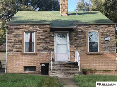 Omaha Single Family Home For Sale: 3486 Jefferson Street