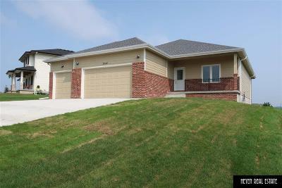 Plattsmouth Single Family Home New: 3322 Fairway Drive