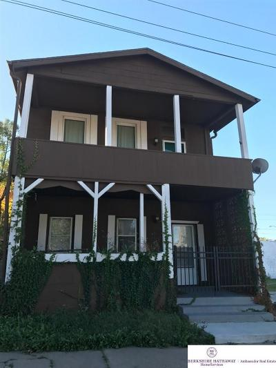 Omaha Multi Family Home For Sale: 1219 Pacific Street