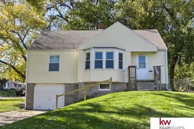 Omaha NE Single Family Home New: $120,000