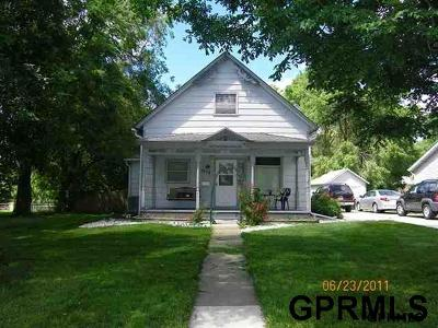 Blair Single Family Home For Sale: 1678 Park Street