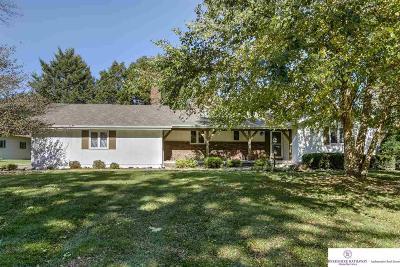 Omaha Single Family Home New: 20820 Corral Road