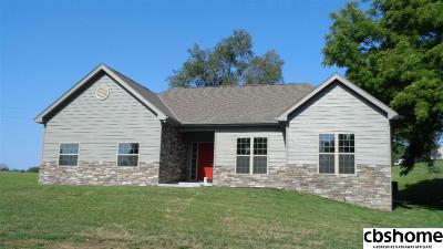 Plattsmouth Single Family Home New: 1055 Beaver Lake Boulevard