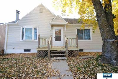 Plattsmouth Single Family Home For Sale: 423 Hillcrest Drive