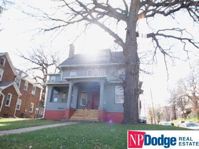 Omaha Multi Family Home For Sale: 3525 Cuming Street