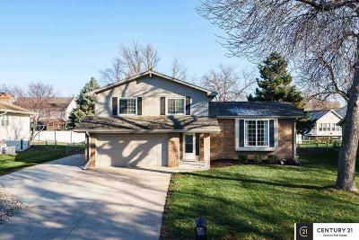 Omaha Single Family Home New: 21424 Fieldcrest Drive