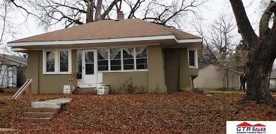 Omaha NE Single Family Home New: $59,900