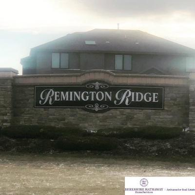 Gretna Residential Lots & Land For Sale: Lot 237 Remington Ridge Street