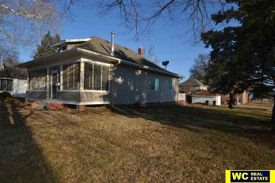 Blair Single Family Home For Sale: 2104 Lincoln Street