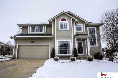 Papillion Single Family Home New: 2006 Queen Drive