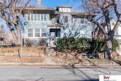 Omaha Single Family Home For Sale: 3568 Jackson Street