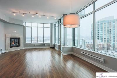 Omaha Single Family Home For Sale: 444 Riverfront Plaza #605