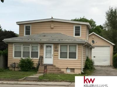 Omaha NE Single Family Home New: $88,000