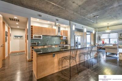 Omaha Single Family Home For Sale: 1308 Jackson Street #303
