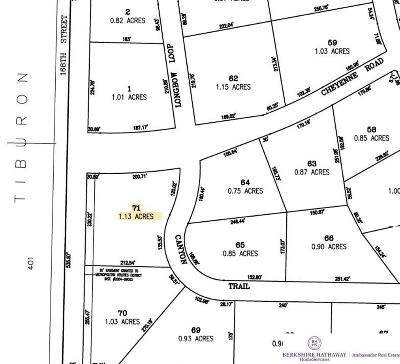 Omaha Residential Lots & Land New: 16749 Canyon Trail