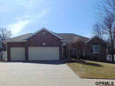 Papillion Single Family Home New: 505 Fox Creek Lane