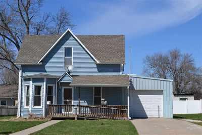 Blair Single Family Home For Sale: 1454 Nebraska Street