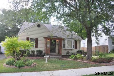 Omaha Single Family Home New: 1718 N 49 Street