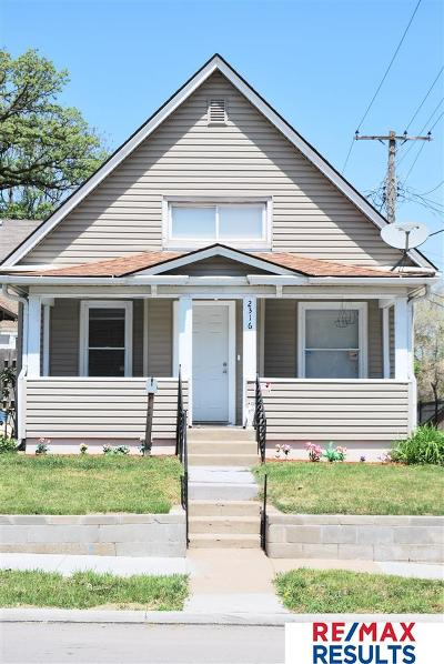 Omaha Single Family Home For Sale: 2316 F Street