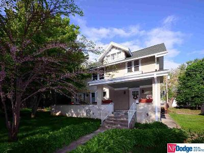Omaha Single Family Home For Sale: 424 N 41 Street