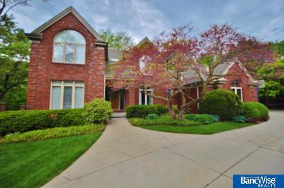 Omaha Single Family Home New: 9643 Oak Circle