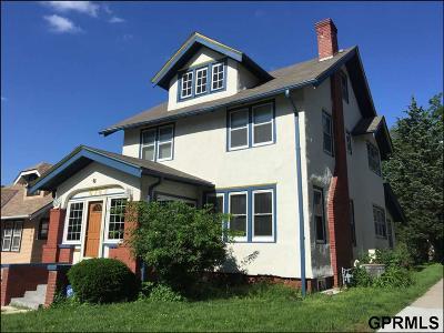 Omaha Single Family Home For Sale: 6743 Florence Boulevard