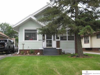 Omaha Single Family Home For Sale: 2433 Mary Street