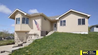 Blair Single Family Home For Sale: 11412 Valley Drive