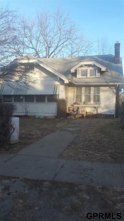 Omaha Single Family Home For Sale: 3511 N 45 Avenue