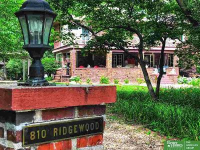 Single Family Home For Sale: 810 Ridgewood Avenue