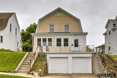 Omaha Single Family Home New: 2418 S 25 Street