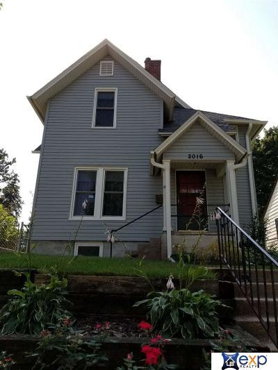 Omaha Single Family Home New: 2016 N 48th Street