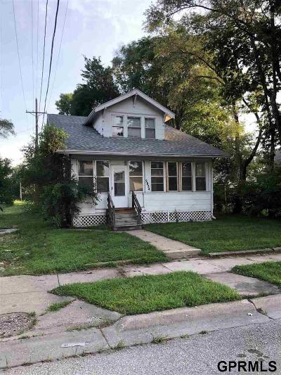 Omaha NE Single Family Home New: $56,500