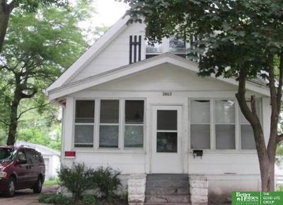 Omaha NE Single Family Home New: $55,000
