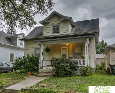 Lincoln Single Family Home New: 2534 D Street