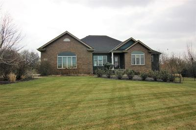 Lincoln Single Family Home For Sale: 1401 W Burr Oaks Road