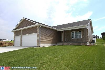 Hickman Single Family Home For Sale: 1280 Oakview Drive