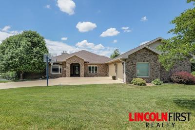 Crete Single Family Home For Sale: 1180 Lakeshore Drive