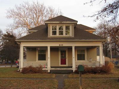 Crete Single Family Home For Sale: 644 Oak Avenue