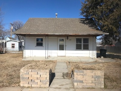 Ord NE Single Family Home For Sale: $35,000