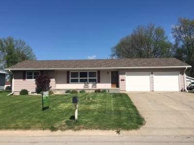 Broken Bow NE Single Family Home For Sale: $179,900